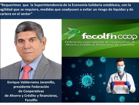 Fecolfin pide ayuda al Gobierno para las Cooperativas de Ahorro y Crédito